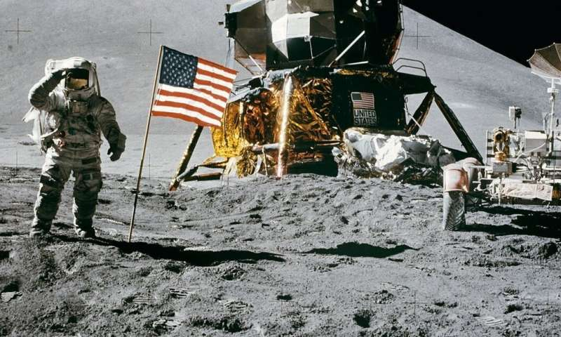 Would your mobile phone be powerful enough to get you to the moon?