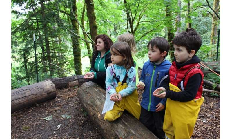 WSU study to examine health benefits of outdoor preschools