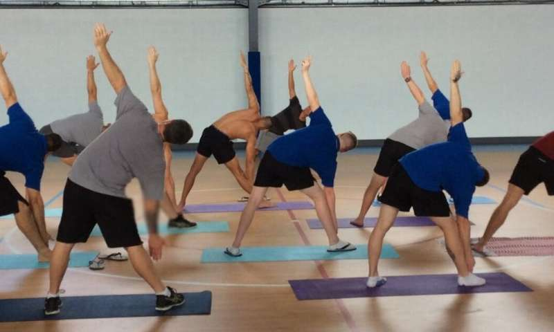 Yoga can improve the lives of prisoners, study finds