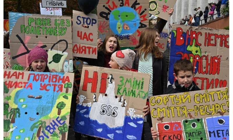 Young people have been at the forefront of the movement, with masses of children skipping school on Friday for a global climate