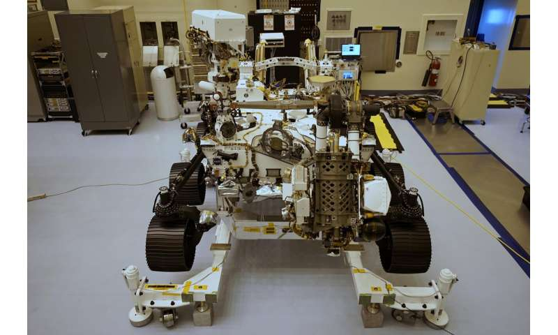 10,9 millions de noms à bord du Persoverance Mars Rover de la NASA