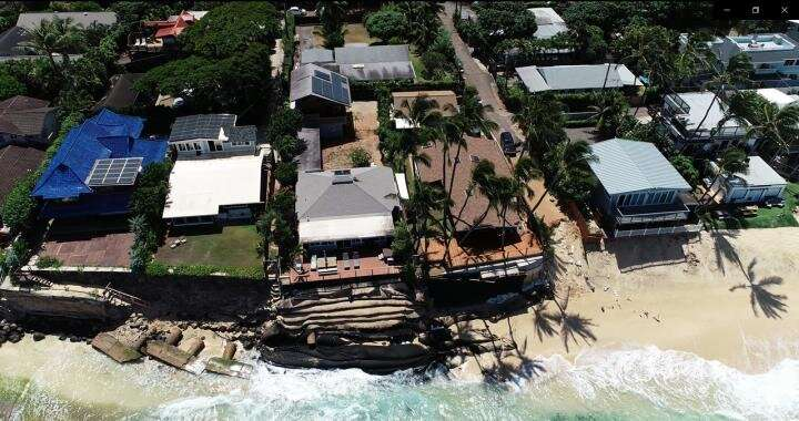 40% of O'ahu, Hawai'i beaches could be lost by mid-century