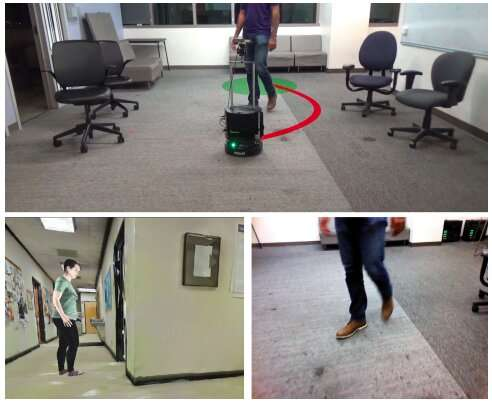 A framework for indoor robot navigation among humans