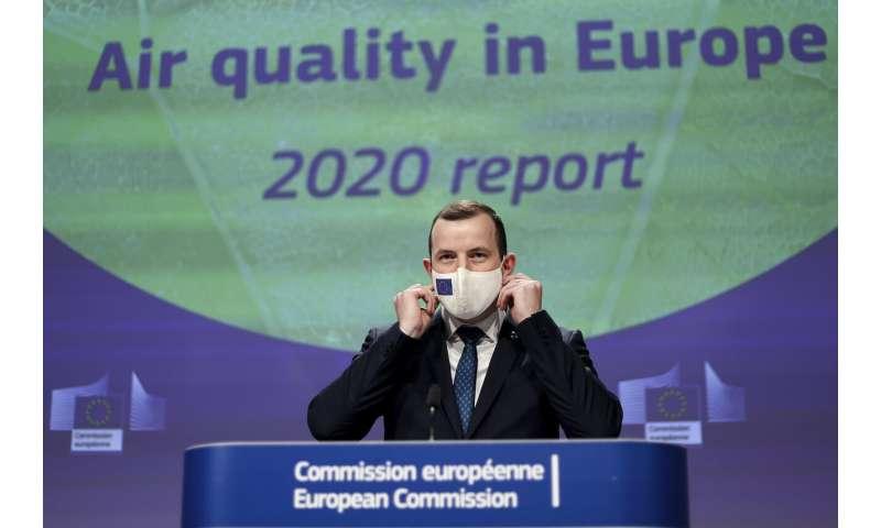 La calidad del aire aumenta en algunas ciudades de la UE durante el bloqueo pandémico