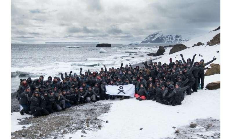 All-female scientific coalition calls for marine protected area for Antarctica Peninsula