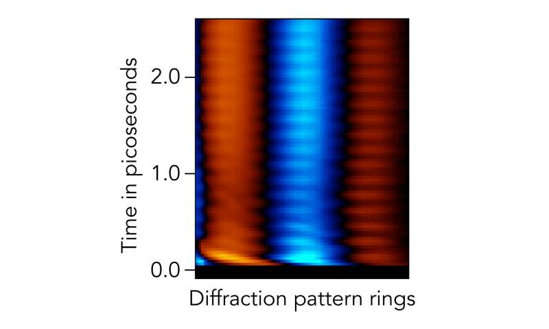 An advance in molecular moviemaking shows how molecules respond to two photons of light