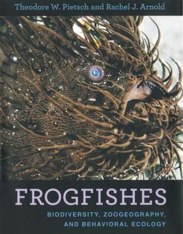 Anatomy of a frogfish: New book explores world of fishes with arms, legs