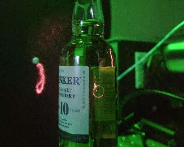 A new laser technique designed to authenticate rare whisky could also detect disease