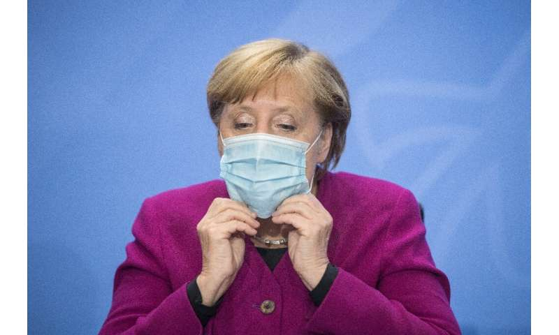 Angela Merkel also announced stricter measures on wearing masks
