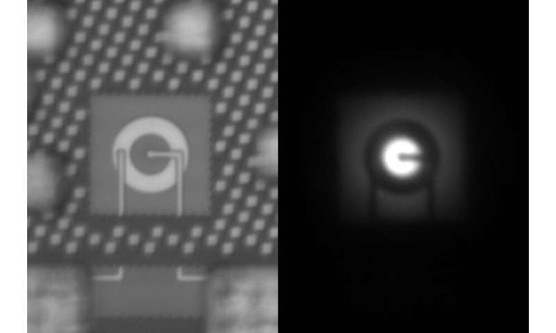 Sebuah LED yang dapat diintegrasikan langsung ke dalam chip komputer