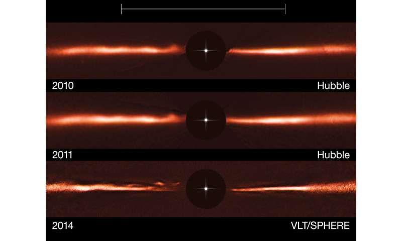 Astronomers might have imaged a ringed planet around Proxima Centauri