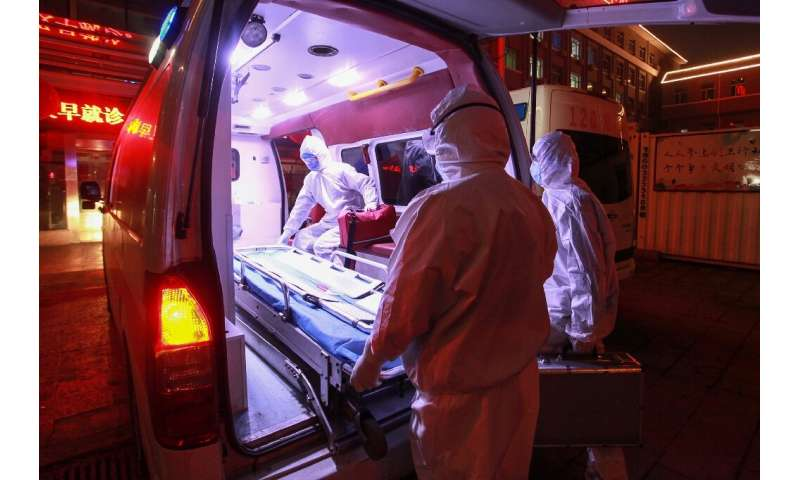 A top Chinese scientist had predicted that the epidemic could peak by the end of this month after the number of new cases had fa