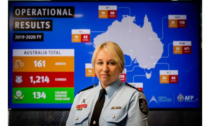 Australian Federal Police detective superintendent Paula Hudson says the pandemic has meant working with forces from other natio