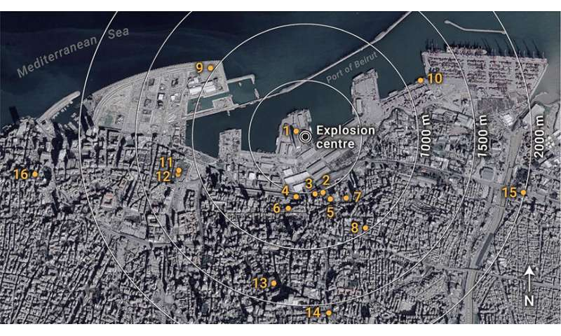 Beirut explosion was one of the largest non-nuclear blasts in history, new analysis shows