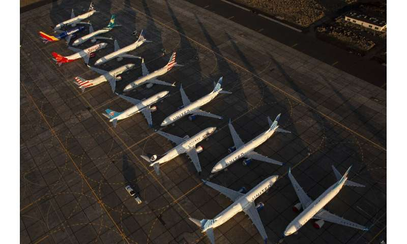 Boeing-made 737 MAX planes have been standing idle for 18 months