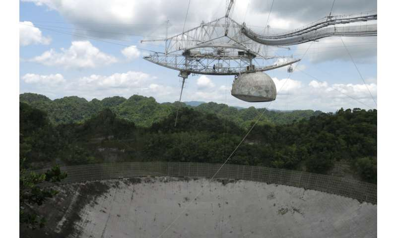 Cable failures endanger renowned Puerto Rico radio telescope