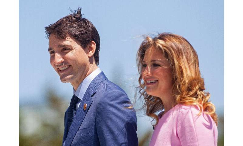 Canada's Prime Minister Justin Trudeau and his wife Sophie are in self-imposed quarantine