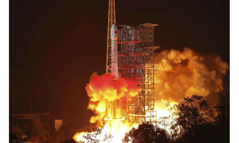 China's space ambitions: robot on Mars, a human on the moon