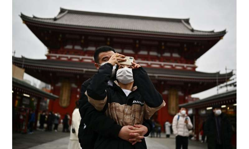 Chinese visitors make up 37 percent of all Japan's inbound tourists and the virus outbreak is likely to affect a range of local