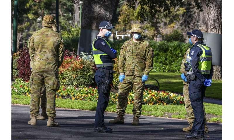 City streets drain of life in Australia's toughest lockdown