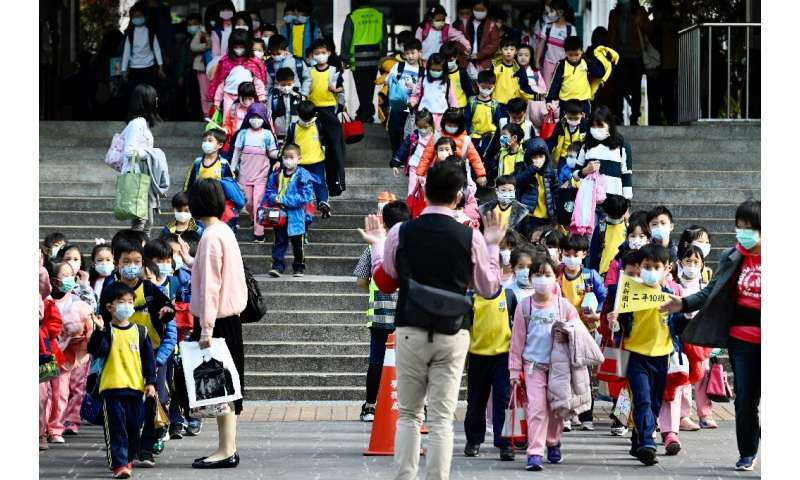 Countries hit by the COVID-19 outbreak have begun closing schools to slow down the spread of the virus, although Taiwan reopened