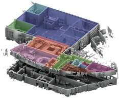 Creating 3-D maps of complex buildings for disaster management