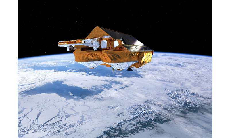 CryoSat reveals surprising ebb and flow of subglacial lakes