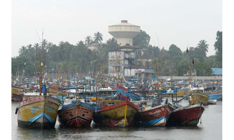 Cyclone Nivar's centre was expected to pass some 175 kilometres northeast of Sri Lanka's northern tip early on Wednesday