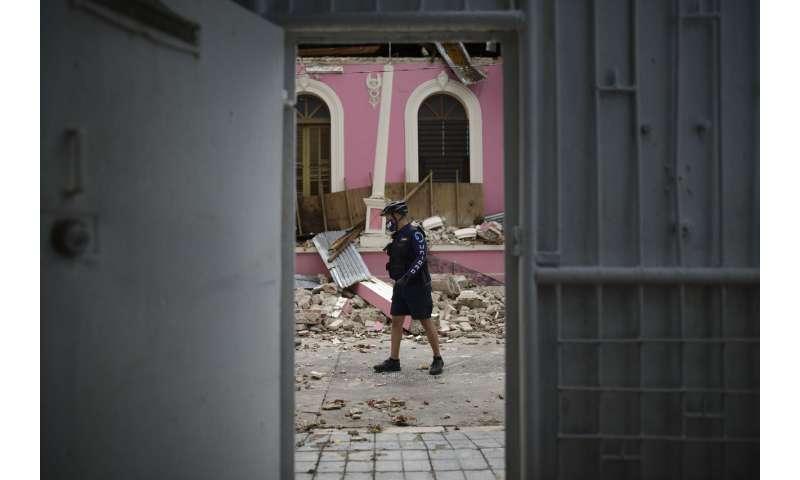 Damage reported as 5.4-magnitude quake strikes Puerto Rico