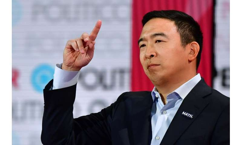 Democratic presidential hopeful entrepreneur Andrew Yang endorsed the idea of universal basic income before he dropped out of th