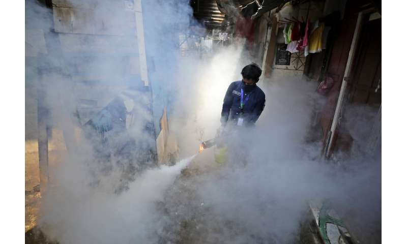 Dengue prevention efforts stifled by coronavirus pandemic