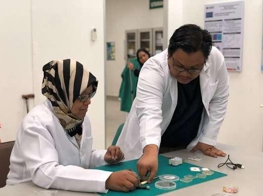 Developing sensors for tumors, dengue