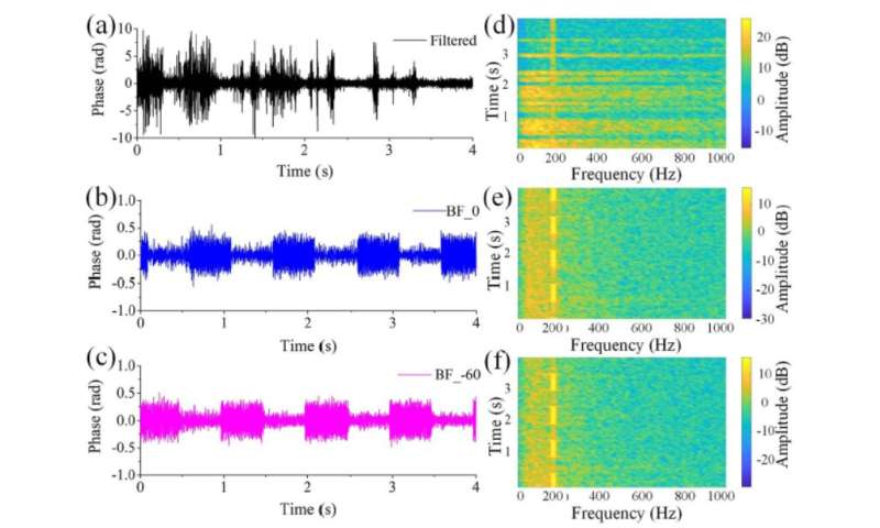 Distributed directional listening with distributed fiber acoustic sensing and directionally coherent enhancement