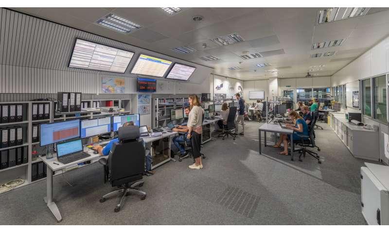 ESA Mission Control adjusts to coronavirus conditions