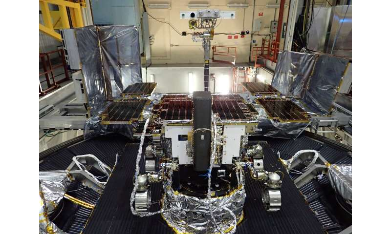 ExoMars rover upgrades and parachute tests