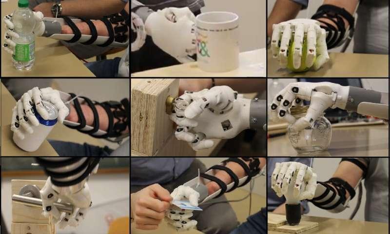 Eye-tracking data improves prosthetic hands
