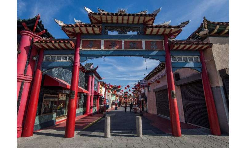 Fear of the coronavirus has impacted normally bustling Chinatowns in major cities around the world, like Los Angeles, as visitor
