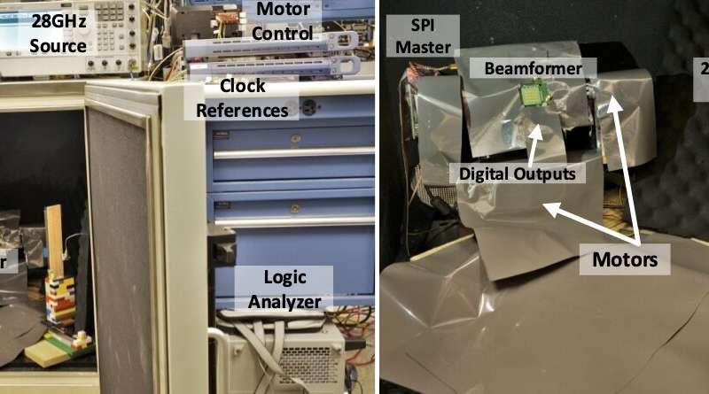 Beamformer gelombang milimeter chip tunggal digital pertama akan memanfaatkan kemampuan 5G