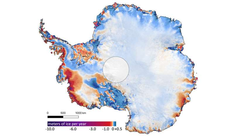 First results from NASA's ICESat-2 mission map 16 years of melting ice sheets