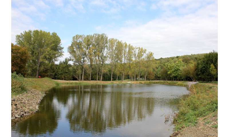 First two nature-based water retention measures are operational in Hungary