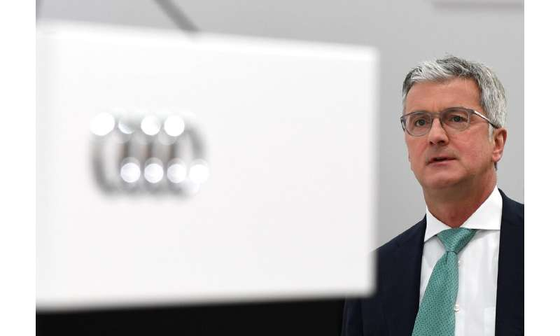 Former Audi chief executive Rupert Stadler denies accusations that he knew of plans to defeat pollution testing devices