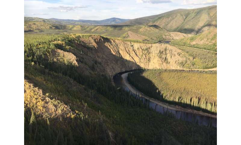 Geoscientists provide data suggesting global climate changes increase river erosion