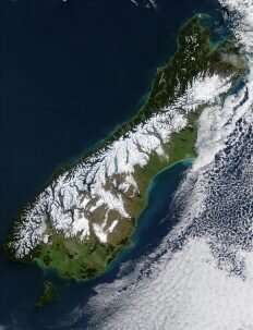 Glacier town at risk in next great New Zealand earthquake