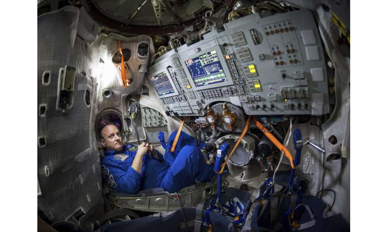 Going stir crazy? Then train like an astronaut, mimic space