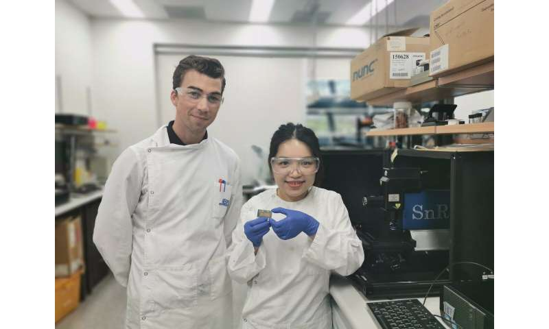 Gold nanoparticles detect signals from cancer cells