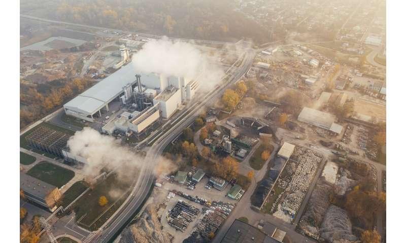 emission of greenhouse gases