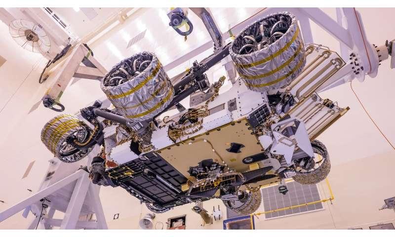 Comment l'hélicoptère Mars de la NASA atteindra la surface de la planète rouge