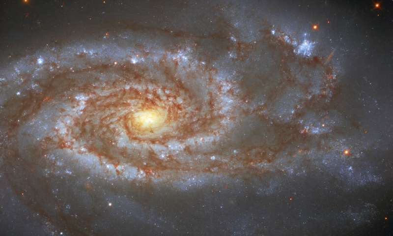 Hubble Views Galaxy Host to 2 Supernovae