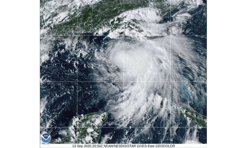 Hurricane Sally threatens Gulf Coast with a slow drenching