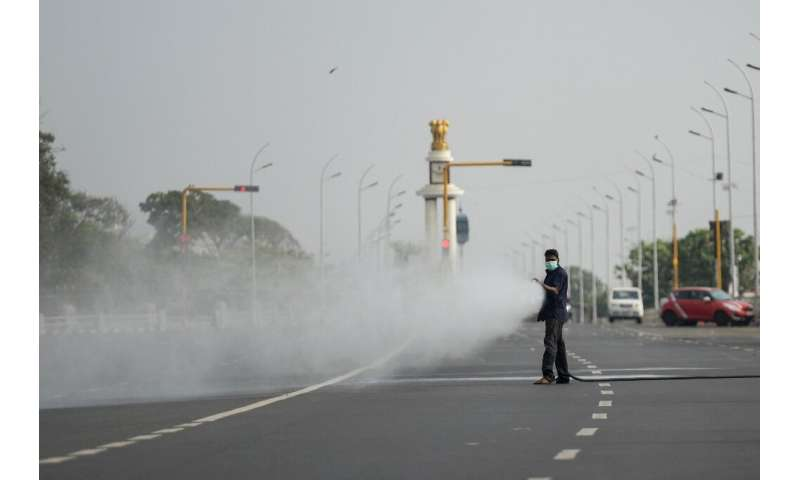 """India went into lockdown with a one-day nationwide """"self-imposed curfew"""" to stem the spread of the virus"""